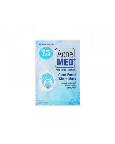 Acnemed Facial Sheet Mask Clear - Masker Wajah